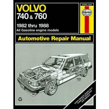 Volvo 740 & Volvo 760 Petrol (82-88) Repair Manual Haynes