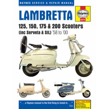Lambretta 125 150 175 200 Roller Scooter (58-00) - Repair Manual Haynes