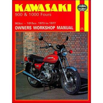 Kawasaki 900 & 1000 Fours (73-77) Repair Manual Haynes