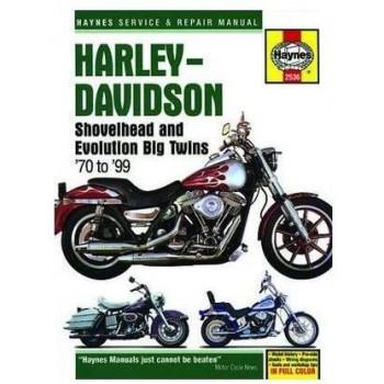 Harley Davidson Shovelhead / Evolution Big Twins (70-99) Repair Manual Haynes