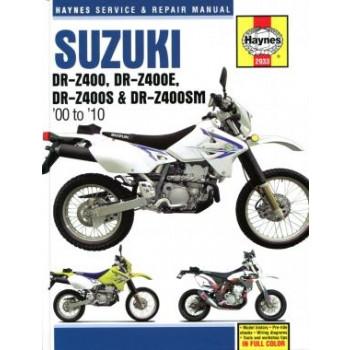 Suzuki DR-Z400 (2005-2010) Repair Manual Haynes