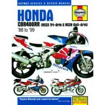 Honda CBR400RR Fours (88 - 99) - Rpair Manual Haynes
