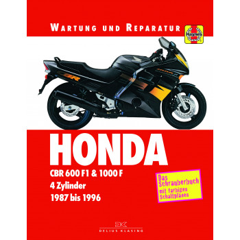 Honda CBR 600 F1 /  CBR 1000 F (87-96) - Reparaturanleitung Schrauberbuch