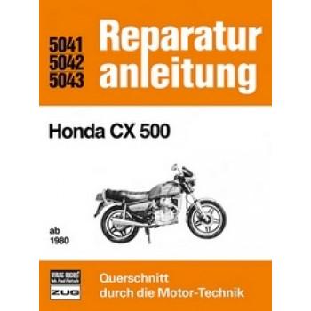 Honda CX 500 / CX 500 C (80>) Reparaturanleitung