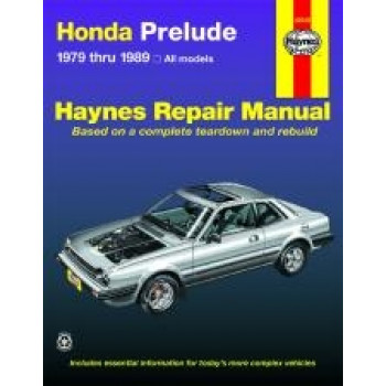 Honda Prelude CVCC (79 - 89) - Repair Manual Haynes
