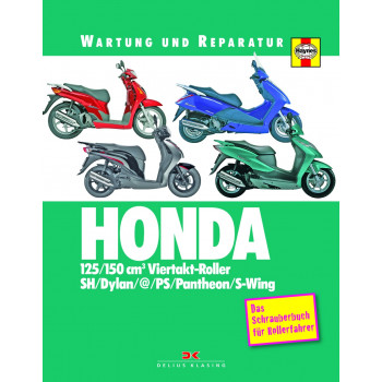 HONDA 125 / 150 cm3 Viertakt-Roller - Reparaturanleitung Schrauberbuch