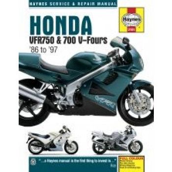 Honda VFR750 and 700 (86 - 97) - Repair Manual Haynes