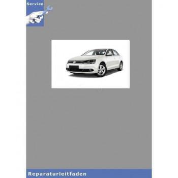 VW Jetta VI, Typ NCS (10>) Fahrwerk, Achsen, Lenkung - Reparaturanleitung