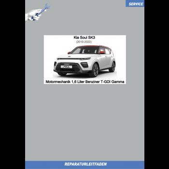 KIA Soul SK3 (19-22) Reparaturleitfaden Motormechanik 1,6 L Benziner T-GDI Gamma