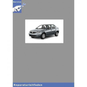 Dacia Logan (04>) 5-Gang Schaltgetriebe JR5 - Reparaturleitfaden