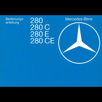 Mercedes Benz W 123 (76-80) - Betriebsanleitung