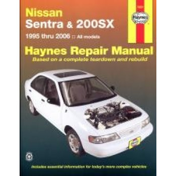 Nissan Sentra and 200SX (95 - 99) - Repair Manual Haynes