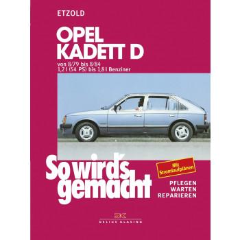 Opel Kadett D (79-84) - Reparaturleitung So wirds gemacht