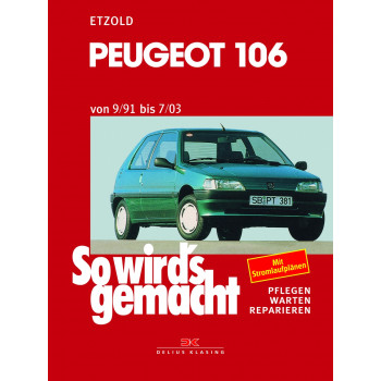 Peugeot 106 (91-03) - Reparaturanleitung So wirds gemacht