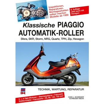 PIAGGIO Sfera / SKR / Storm / NRG / Quartz / TPH / Zip (90 >) Reparaturanleitung