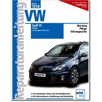 VW Golf VI Diesel (2009/2010 >) - Reparaturanleitung