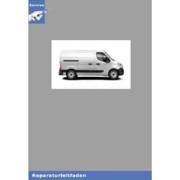 Renault Master III  Motor 2,3L dCi M9T Aggregate - Werkstatthandbuch