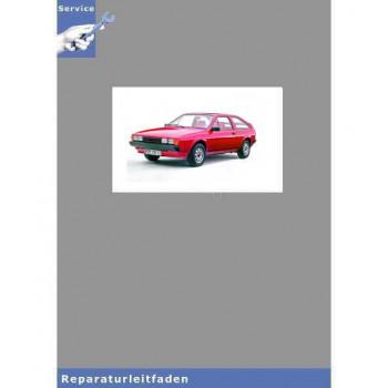 VW Scirocco II, Typ 53 (81-92) 5-Gang Schaltgetriebe 020 - Reparaturanleitung