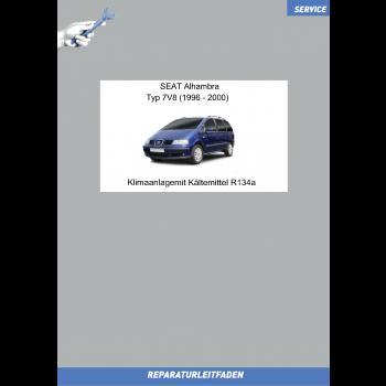 Seat-Alhambra (96-00) Reparaturleitfaden Klimaanlage/Kältemittel R134a