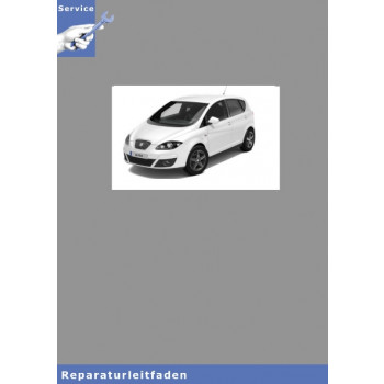 Seat Altea XL Typ 5P5 (06>) 4-Zyl.-Dieselmotor (1,6 l 4V, TDI Common Rail)