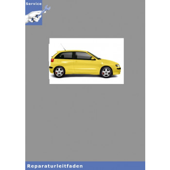 Seat Ibiza Typ 6K (99-01) 5 Gang-Schaltgetriebe 02K - Reparaturleitfaden