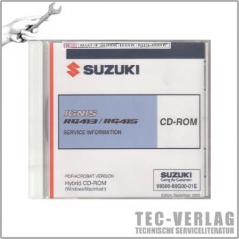 Suzuki Ignis (03-08) - Wartungsanleitung