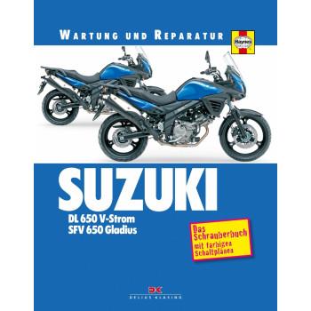 Suzuki DL 650 V-Strom / SFV 650 Gladius (04-17) Reparaturanleitung Schrauberbuch