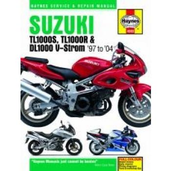 Suzuki TL1000S/R & DL1000 V-Strom (97 - 04) - Repair Manual Haynes