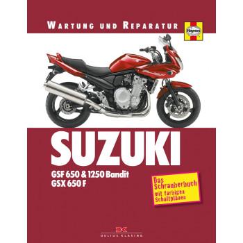 Suzuki GSF 650 / 1250 Bandit / GSX 650 F (07-09) - Reparaturanleitung