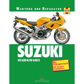Suzuki SV 650 / SV 650 S (99-02) - Reparaturanleitung Schrauberbuch