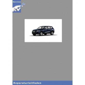 VW Touareg, Typ 7P (10>) Verteilergetriebe und Achsantriebe - Reparaturanleitung