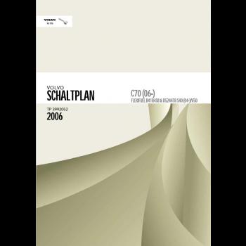 Volvo C70 (2006) Werkstatthandbuch Schaltpläne