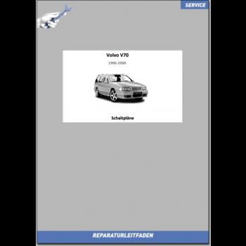 Volvo V70 (1996-2000) Werkstatthandbuch Schaltpläne