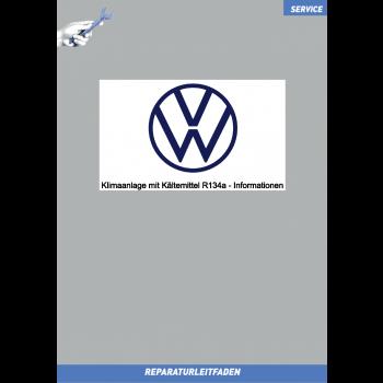 Volkswagen - Ratgeber Klimaanlage mit Kältemittel R134a