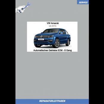 VW Amarok (10-21) Reparaturleitfaden Automatisches Getriebe 0CM  8 Gang