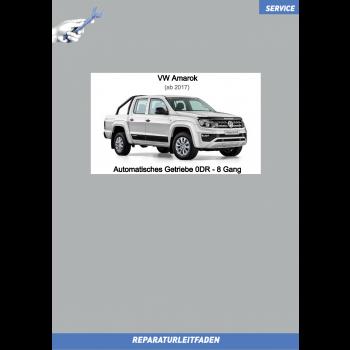 VW Amarok (ab 2017) Reparaturleitfaden Automatisches 8 Gang Getriebe 0DR
