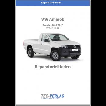 VW Amarok 2H (11>) Verteilergetriebe und Achsantriebe - Reparaturanleitung