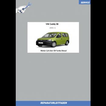 VW Caddy SB (20>) Reparaturanleitung Motor 2,0 Liter TDI 55/75/90 kW
