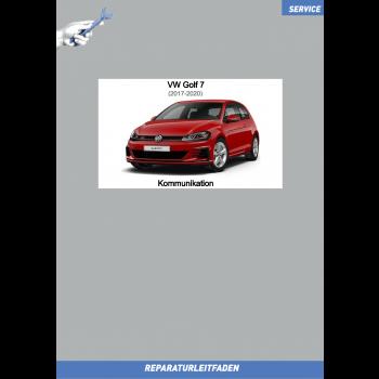 VW Golf 7 (17-20) Reparaturleitfaden Kommunikation Radio Navi