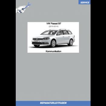 VW Passat B7 (10-14) Reparaturleitfaden Kommunikation Radio Navi