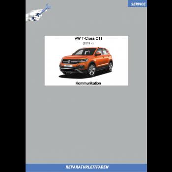 VW T-Cross C11 (19>) Reparaturleitfaden Kommunikation Radio Navi