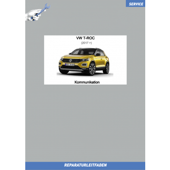 VW T-Roc (17>) Reparaturleitfaden Kommunikation
