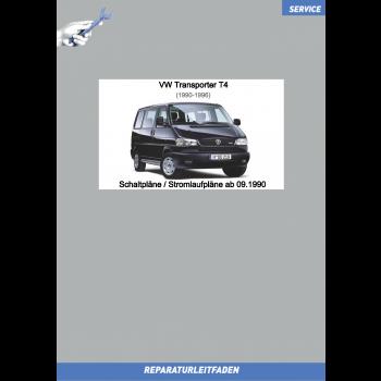 VW Transporter T4 (90-96) Schaltpläne / Stromlaufpläne ab 09.1990
