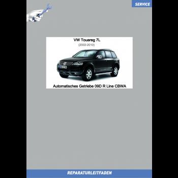 VW Touareg 7L (02-10) Reparaturleitfaden Automatikgetriebe 09D Allrad CBWA R Line