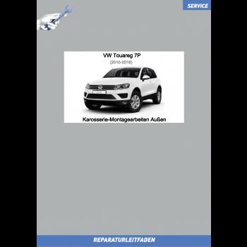 VW Touareg 7P (10-18) Reparaturleitfaden Karosserie-Montagearbeiten Aussen