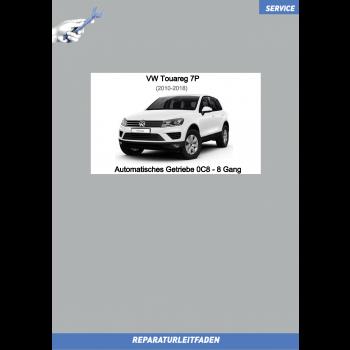 VW Touareg 7P (10-18) Reparaturleitfaden 8 Gang Automatikgetriebe 0C8