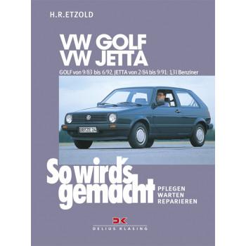VW Golf II / VW Jetta  (83-92) 1,3 l 55kW- Reparaturanleitung So wirds gemacht