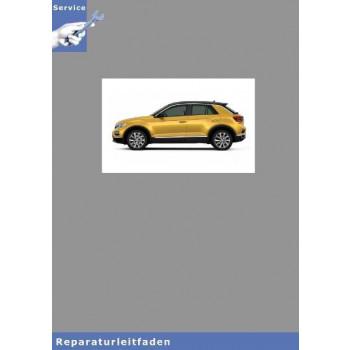 VW T-Roc,  (17>) Karosserie Montagearbeiten Innen - Reparaturanleitung