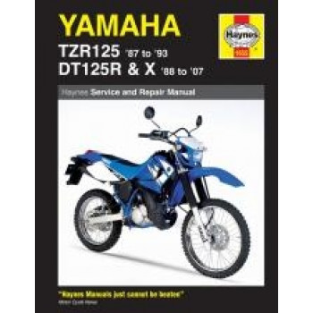 Yamaha TZR125 (87 - 93) and DT125R (88 - 02) - Repair Manual Haynes
