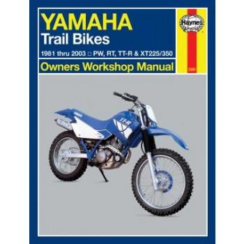 Yamaha Trail Bikes (81 - 00) - Repair Manual Haynes